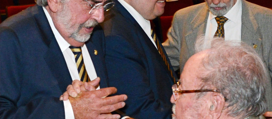 Homenaje en la UNAM al Dr. Guillermo Soberón Acevedo,  el Médico, el Rector.
