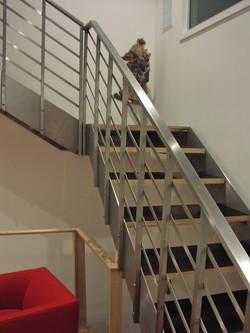 Custom Metal Stairway