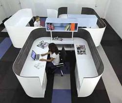 White Metal Workstations