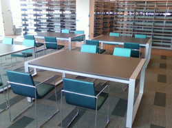 Library Table Metal Frames