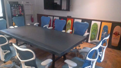 Metal Conference room table