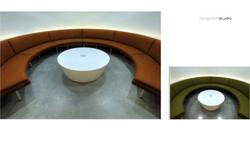 Rotating Metal Coffee Table