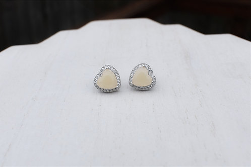 Heart Halo Earrings