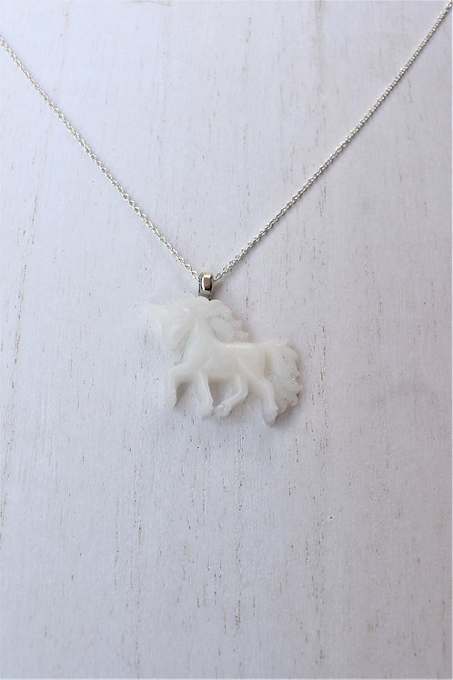 Unicorn Trotting Necklace