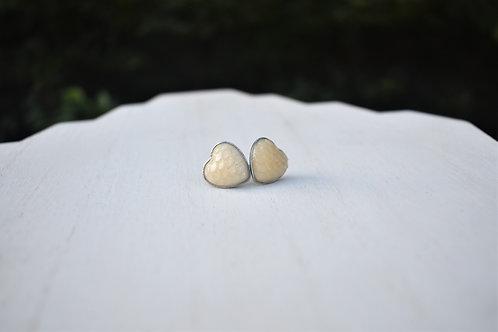 Mermaid Heart Earrings
