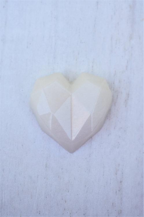 Geometric Heart Statue