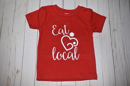Eat Local Heart Infant/Toddler Shirt