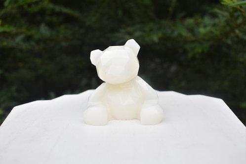 Geometric Bear Statue
