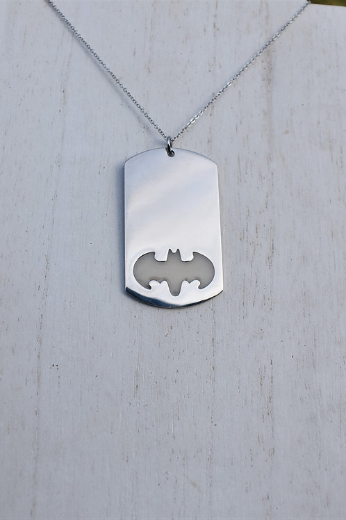 Bat Dog Tag