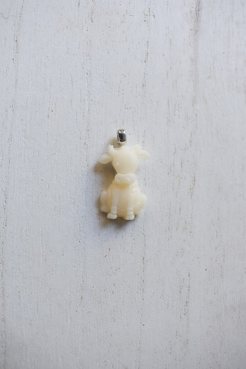 Sitting Cow Necklace