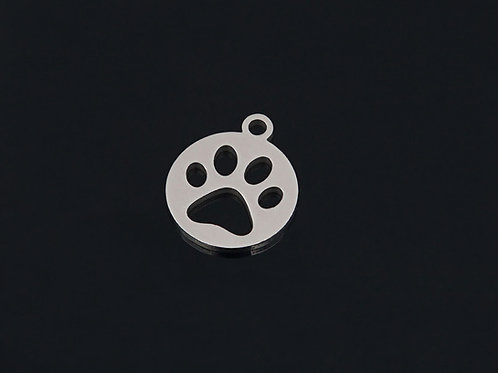 Circular Paw Necklace
