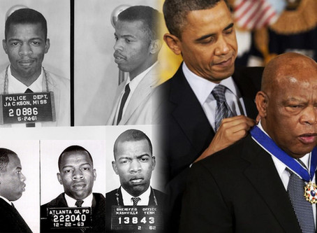 John Lewis - You Get Rewarded & Respected for Living Bad - Be a Rebel with a Cause - Thank You & RIP