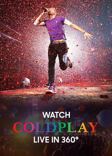 COLDPLAY - LIVE VR STREAM (2017)