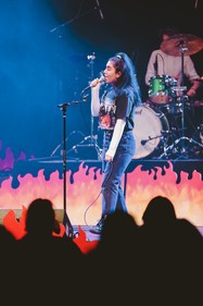Marina Buendia at Palo Alto Battle of the Bands, 2019.