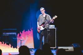 Joseph Cudahy at Palo Alto Battle of the Bands, 2019.
