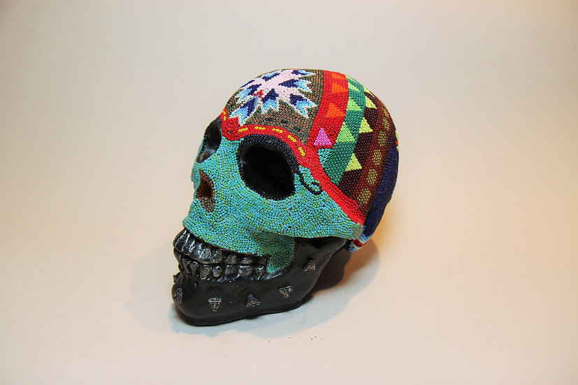 Beaded Skull 2