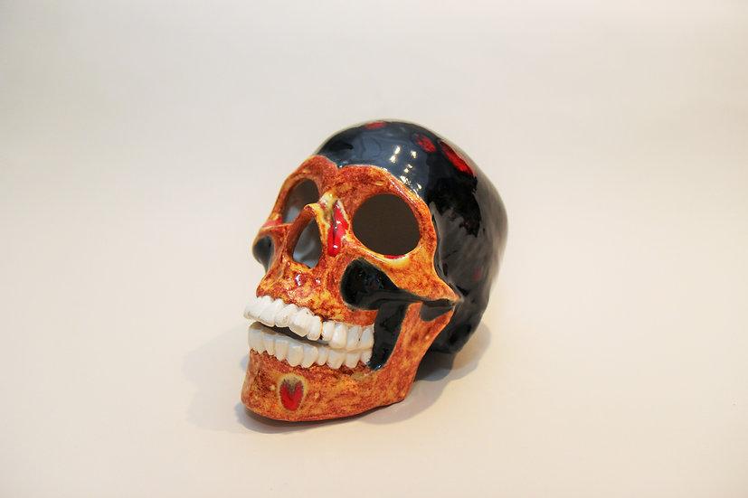 Fire & Lava Skull