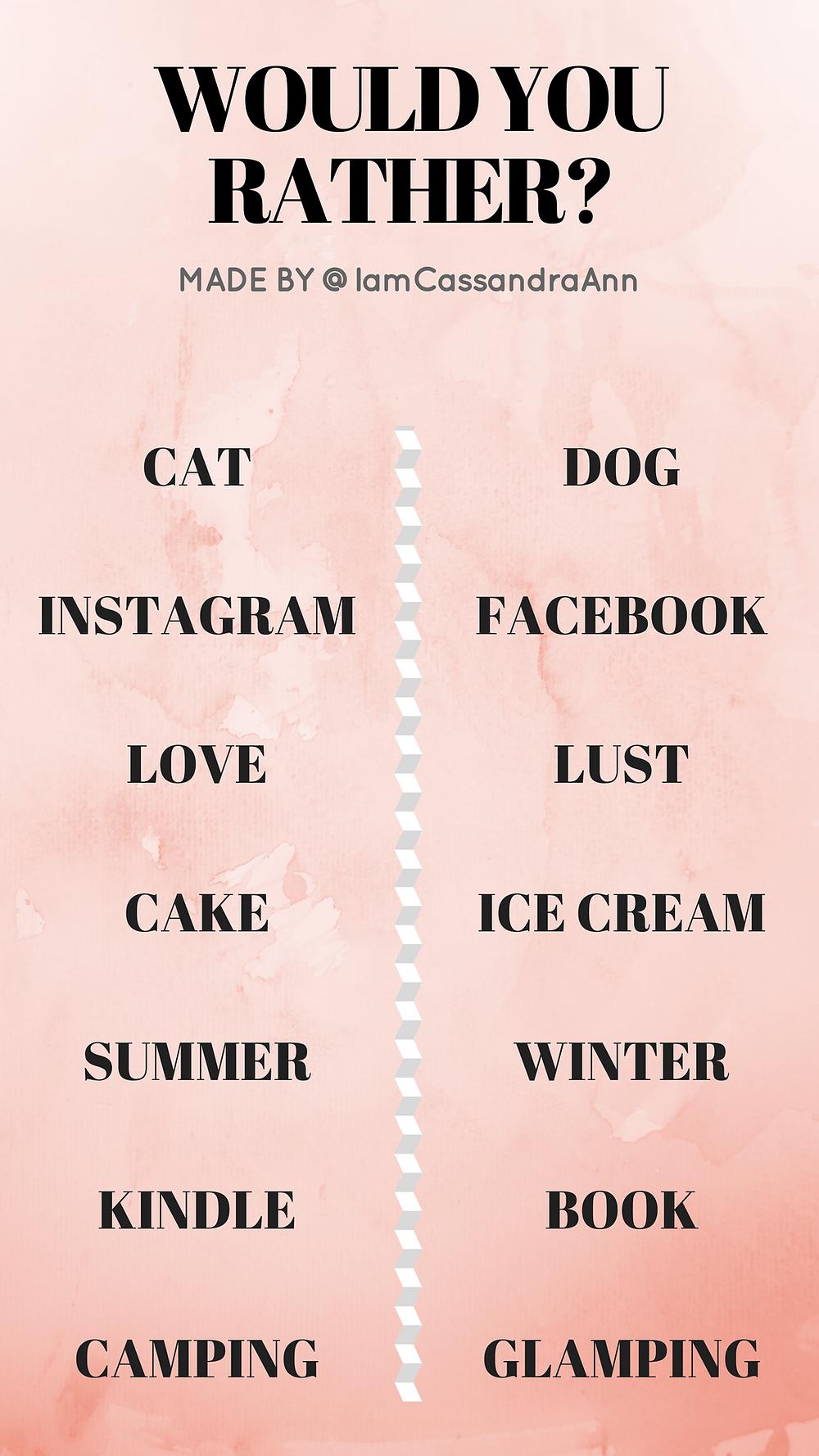 Freebies: Instagram Story Templates - Cassandra Ann Blogger
