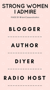 Freebies: Instagram Story Templates - Cassandra Ann Blogger About Me - Instagram Story Questionnaire
