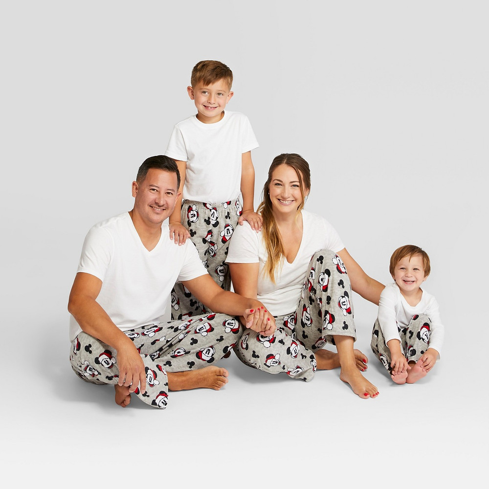matching family pajamas - matching pajamas - matching pjs - mickey mouse