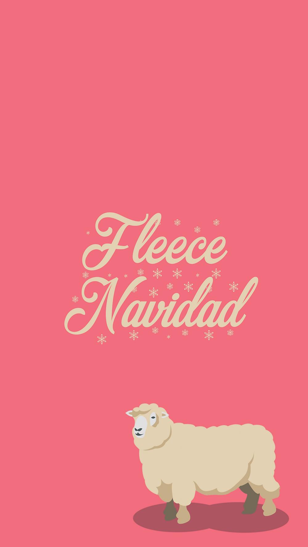 Holiday Phone Wallpapers - Christmas Backgrounds -- Christmas Phone backgrounds - winter phone backgrounds - cassandra ann - Fleece Navidad background