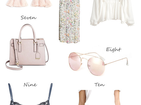 Affordable Pastel Fashion Picks for Spring Under $50