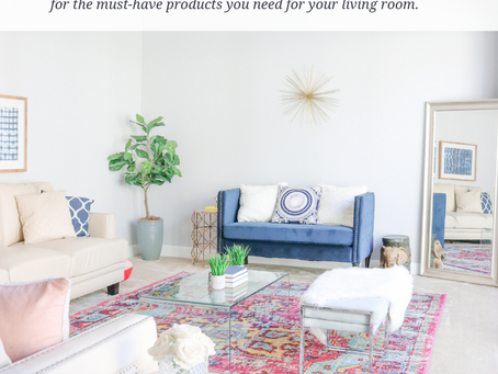 5 Must-Haves Every Living Room Needs