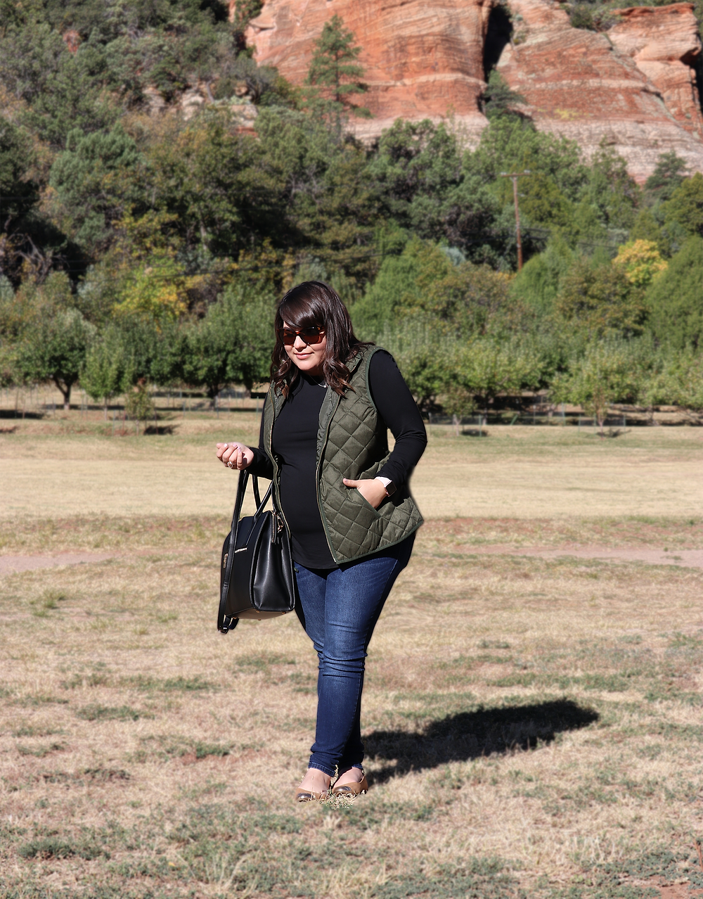 Sedona Trip - Maternity Style - Pregnancy Outfit - Fall Maternity Outfit - lifestyle blogger - the sweetest thing blog - blogger - arizona blogger