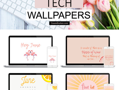 Free Downloadable Tech Backgrounds for June