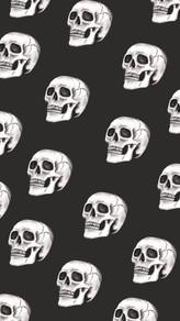 Skull Halloween Wallpaper