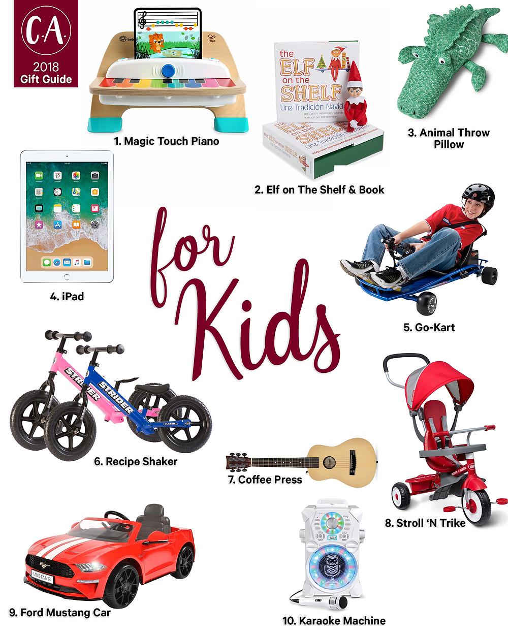 2018 Holiday Gift Guide for Kids - Cassandra Ann - 2018 Popular Blogger