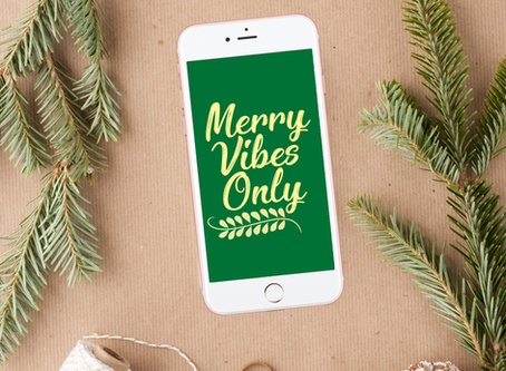 2017 Holiday Phone Wallpapers