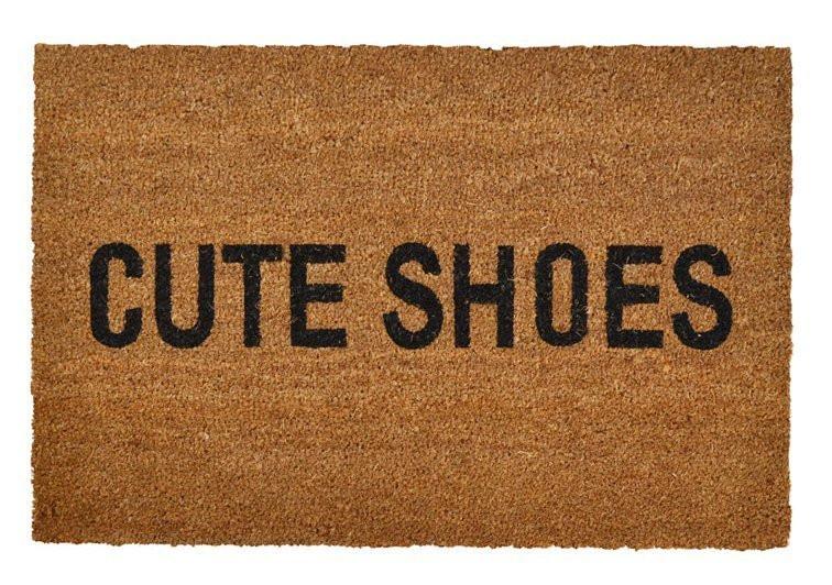 Cute Shoes Doormat - Cassandra Ann - Lifestyle Blogger