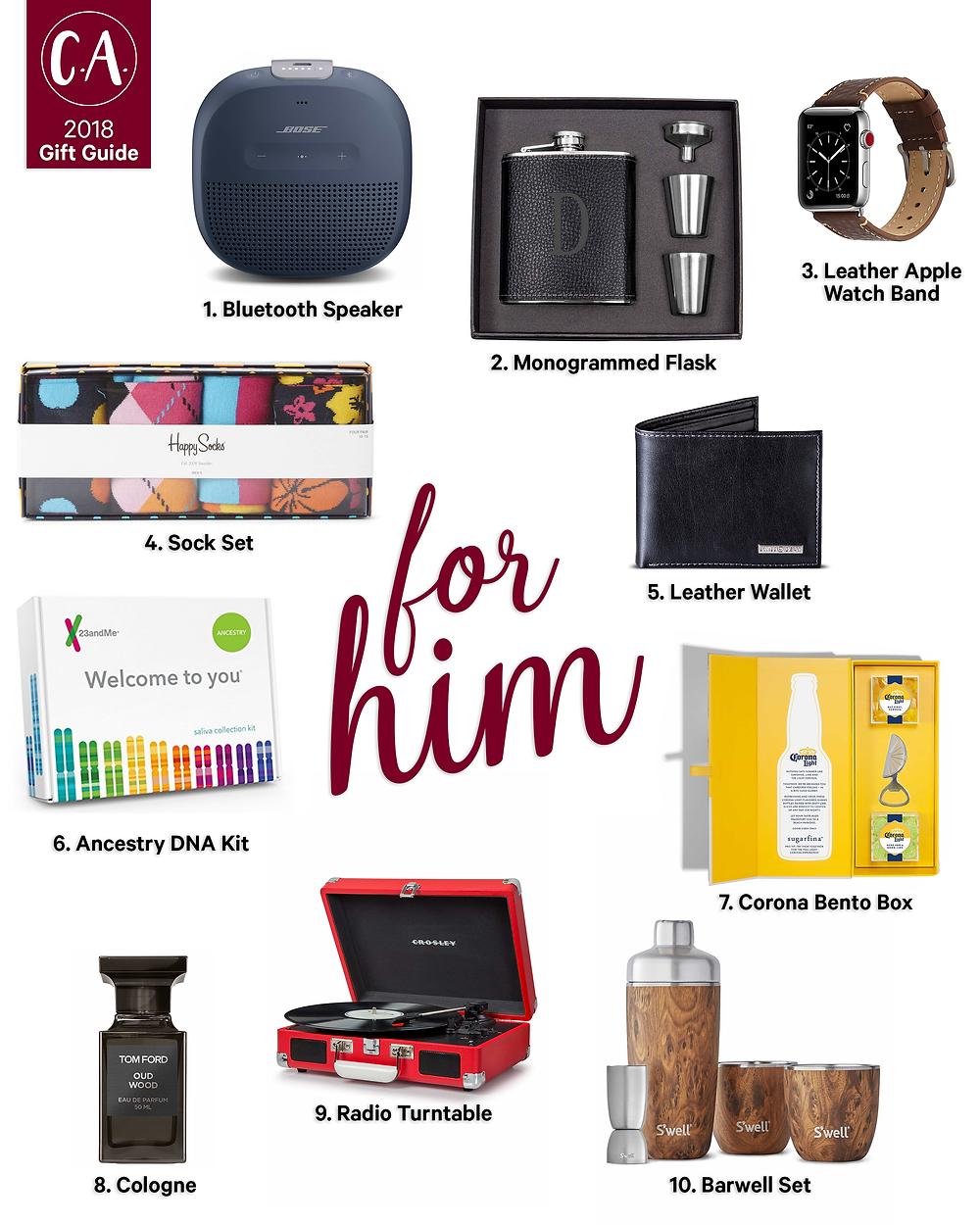 2018 Holiday Gift Guide for Him - Cassandra Ann - 2018 Popular Blogger