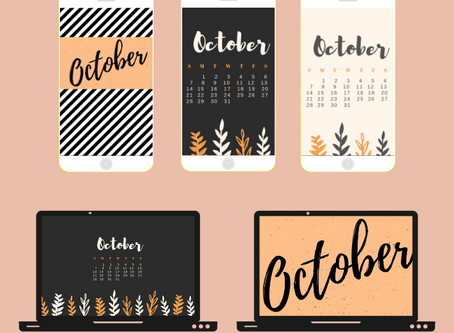 Free Download: October Calendars & Wallpapers