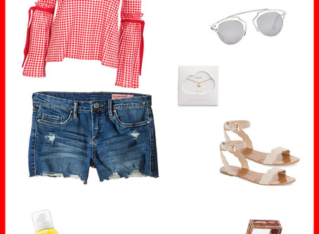 3 Cute Memorial Day Weekend Outfits