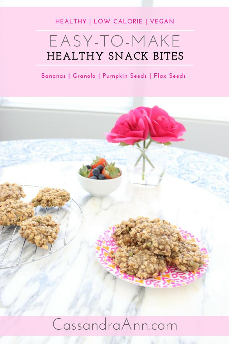 Healthy, low calorie dessert, low calorie snack, vegan snack, easy to make healthy snack bites. Blog, Food, Food blog