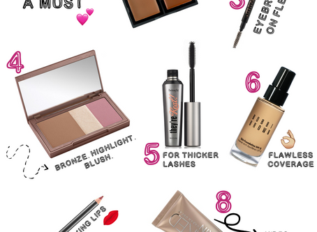 My Top Ten Favorite Beauty Products of 2017