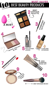 10 best beauty product must haves - the sweetest thing blog - must haves - youtube beauty bloggers