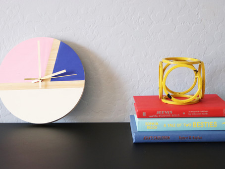 DIY Geometric Clock