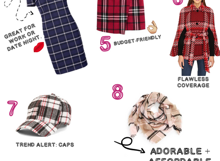 Fall Fashion Top Picks: Plaid Obsessions