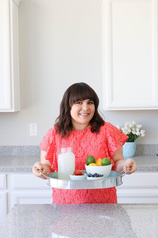 DIY Lemonade + Fruit Infused Popsicles - Healthy Popsicle Recipe