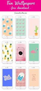 fun summer phone wallpapers - fun summer phone backgrounds - free phone backgrounds - cassandra ann - cassandra ann phone backgrounds