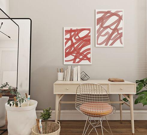 Pink Blurred Lines - Cassandra Ann Co -