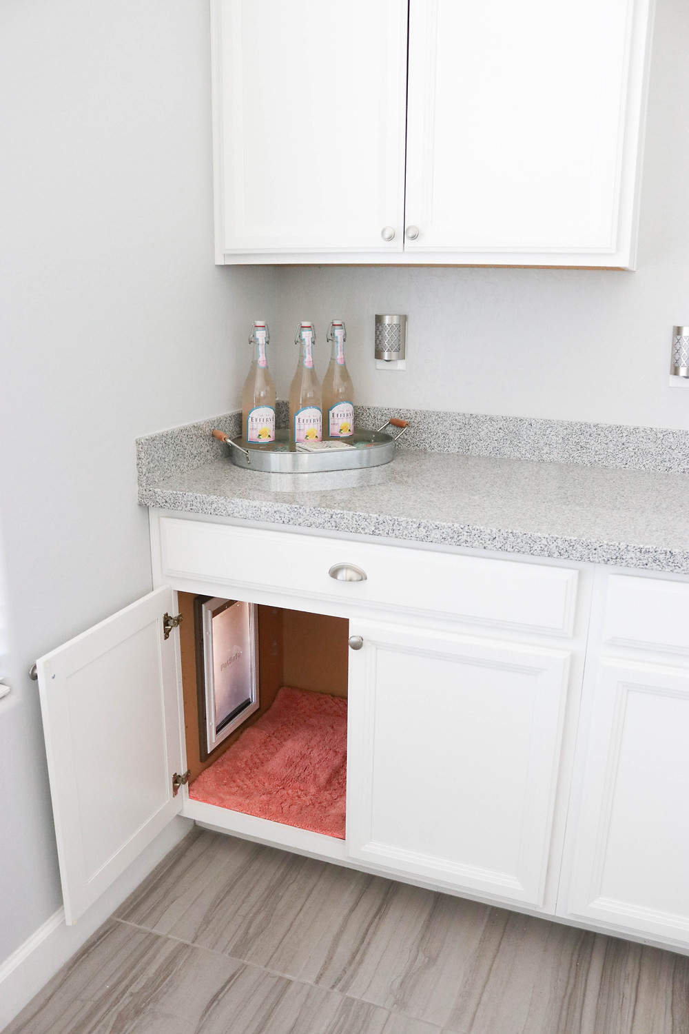 2018 Hidden Dog Door - Hidden Doggy Door - Hidden Dog Door in Cabinets