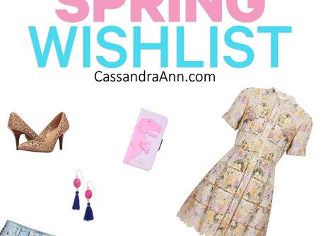 My Spring Wishlist