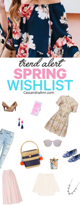 Spring Wish List - Cassandra Ann - Outfit Idea - Spring Outfit - Spring Outfit Ideas - Fashion Blog - Spring Outfit Ideas