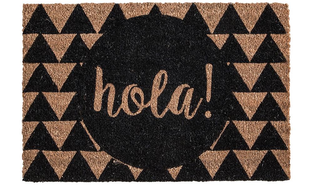 Hola Doormat - Cassandra Ann - CassandraAnn.com - Door mat - DIY - Buy