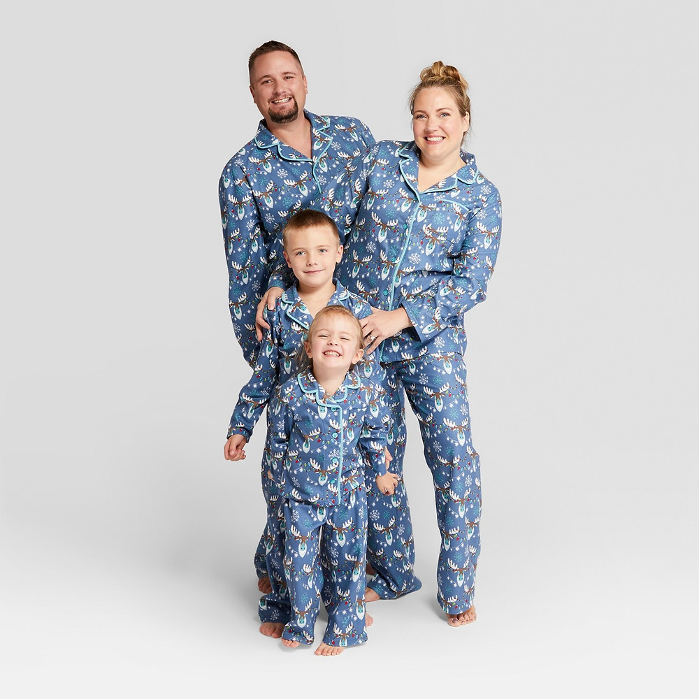 matching family pajamas - matching pajamas - matching pjs - Moose Notch