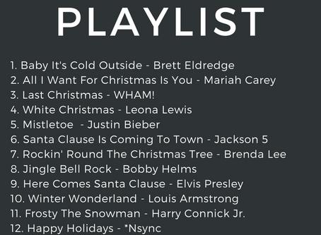 My Favorite Christmas Holiday Playlist